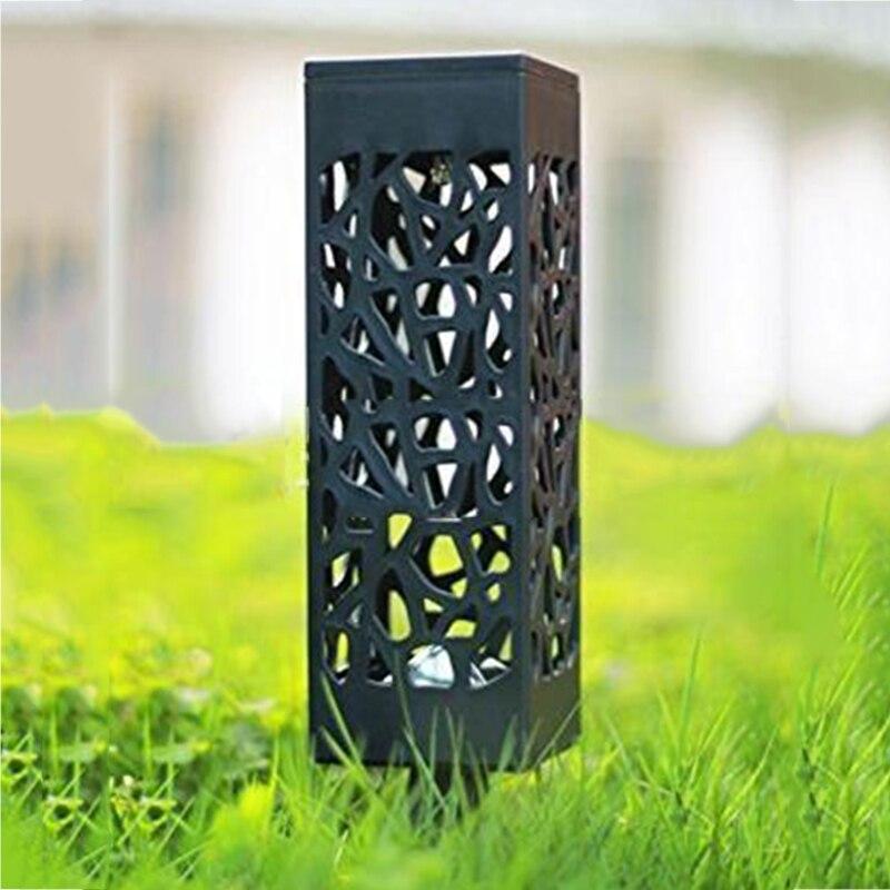 Luz Solar Led para decoración de jardín lámpara de césped exterior Camino...