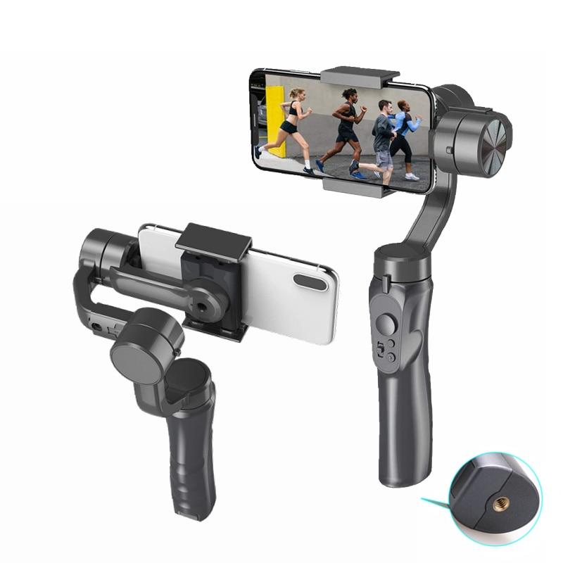 ناغناهرتز 3-محور الهاتف الذكي Gimbal مثبت يدوي الهاتف الذكي Gimbal ل vlogyoutuber لايف فيديو مناسبة ل iOS أندرويد