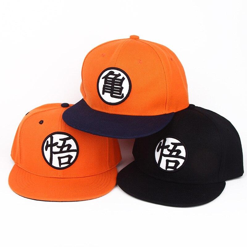 Модная регулируемая бейсболка с драконом, Z Goku, японская аниме-шляпа, плоский костюм, Snapback