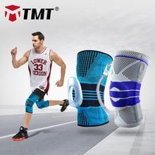TMT Bakstball ressorts genouillères bretelles Sport bretelles genouillère élastique silicone joint Compression genou manchon Fitness course