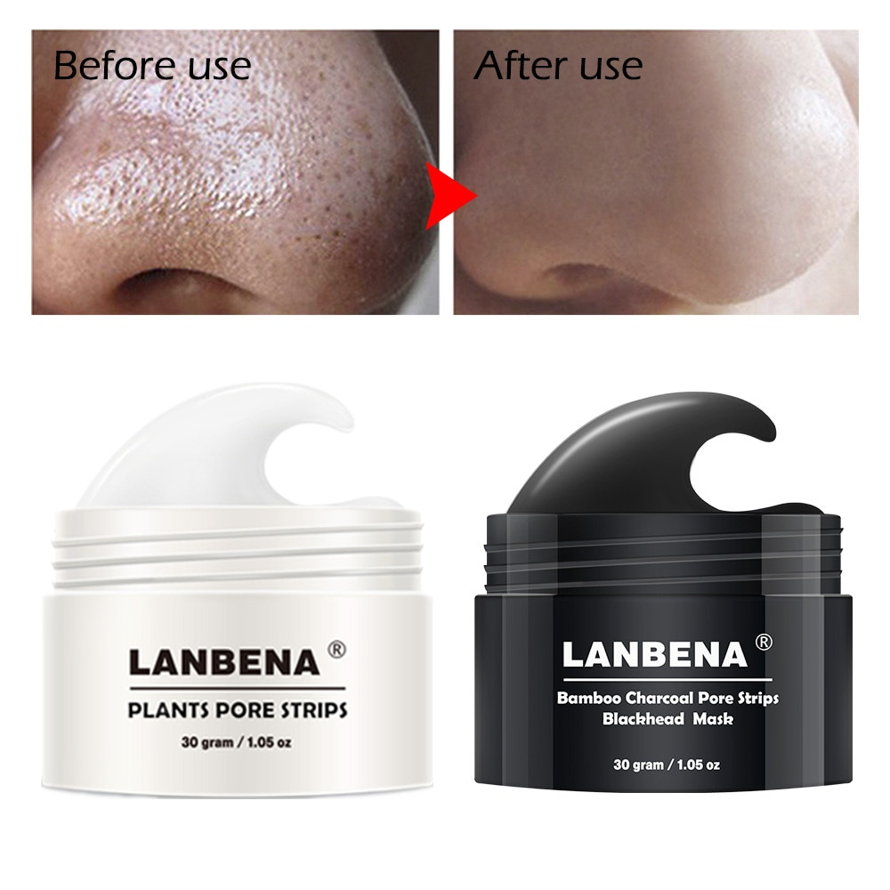 LANBENA Blackhead Remover Mask Nose Peeling Acne Treatment Repair Deep Cleansing Skin Care