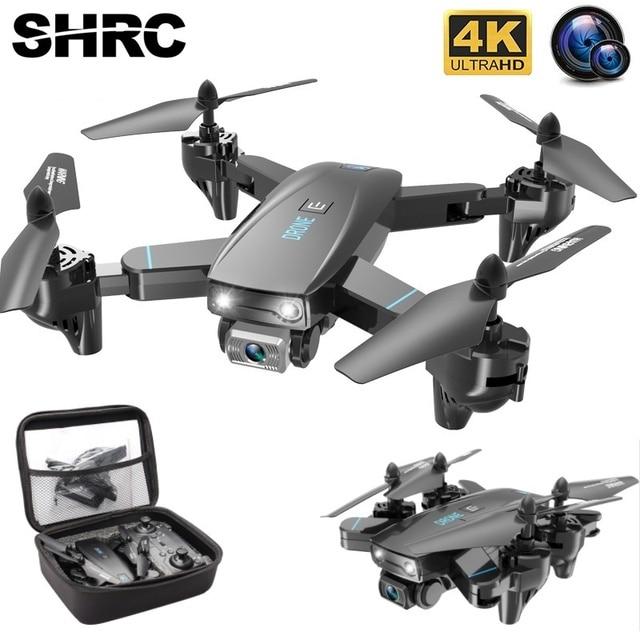 SHRC S173 Mini Drone With Camera 4K HD Professional Wide Angle Selfie WIFI FPV VS RC Quadcopter S167 Dron GPS