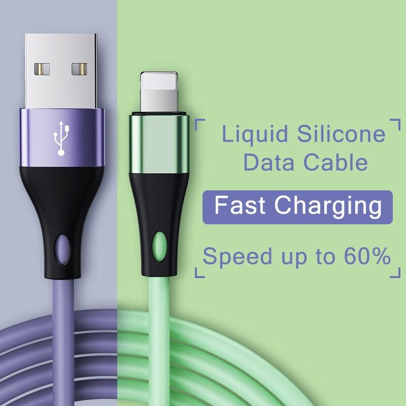 2 шт. USB кабель для iPhone 11 Pro Max Xs Xr X 8 7 6 6s 5S Plus iPad кабели для быстрой зарядки кабель для передачи данных для iPhone зарядное устройство