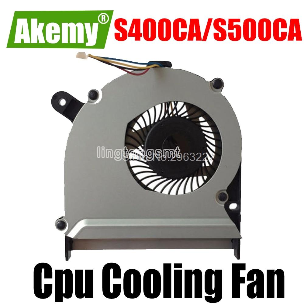 Original Cpu ventilador de refrigeración para For For For For Asus S400 S400C S400CA S400E X402C X402E F402C X502C S300C S500 S500C S500CA portátil ventilador
