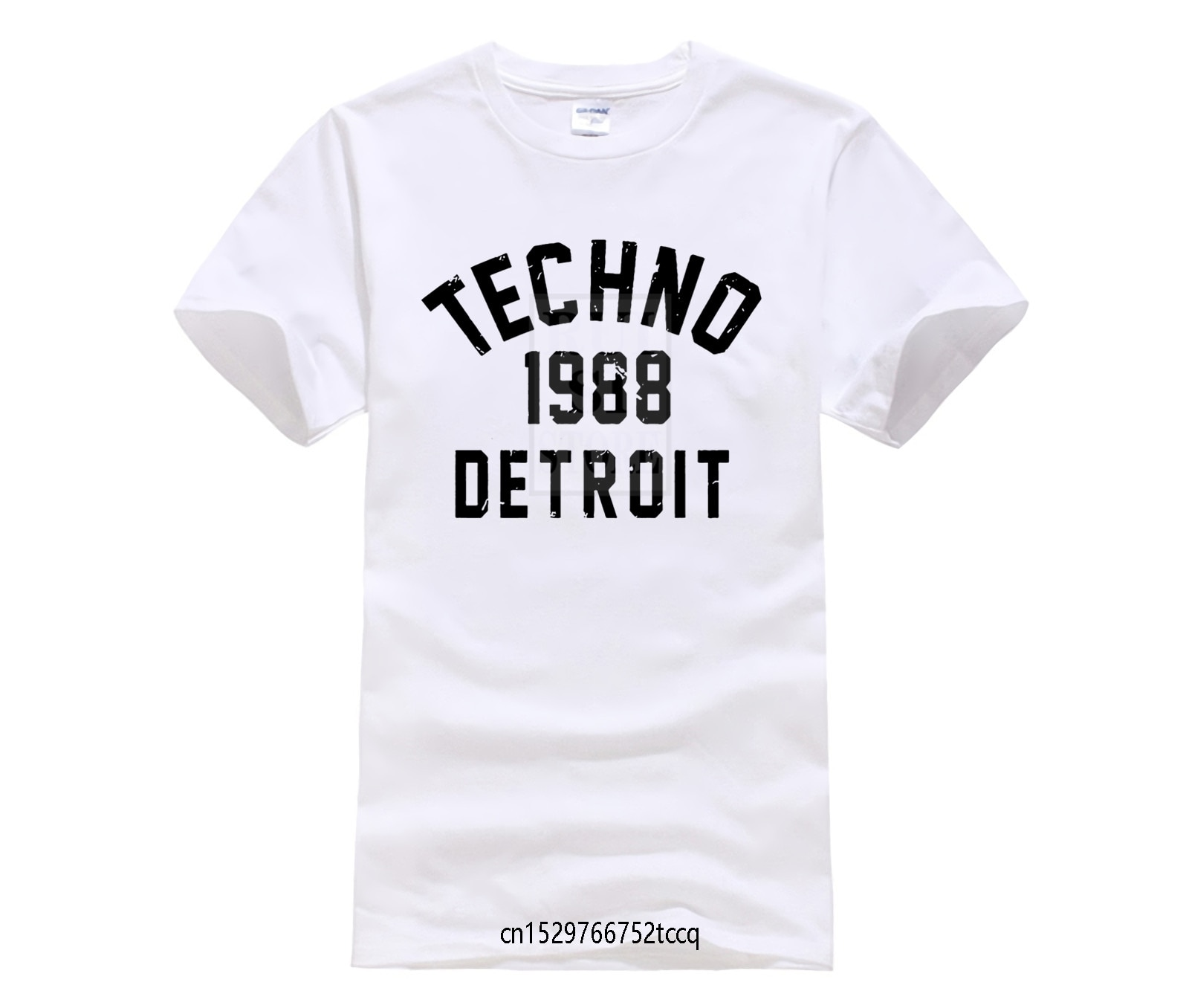 Detroit Techno 1988 T-Shirt Juan Atkins Kevin Saunderson Printed T Shirt women Cotton T-Shirt Printing