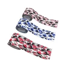 1meter elastic band 2538mm print camouflage strong ribbon clothing bag trousers strap rubber diy sewing accessories wholesale