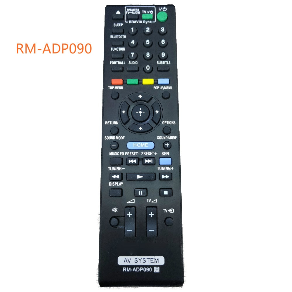 Reemplazo de control remoto para Sony AV System, reemplazo de RM-ADP090 para...