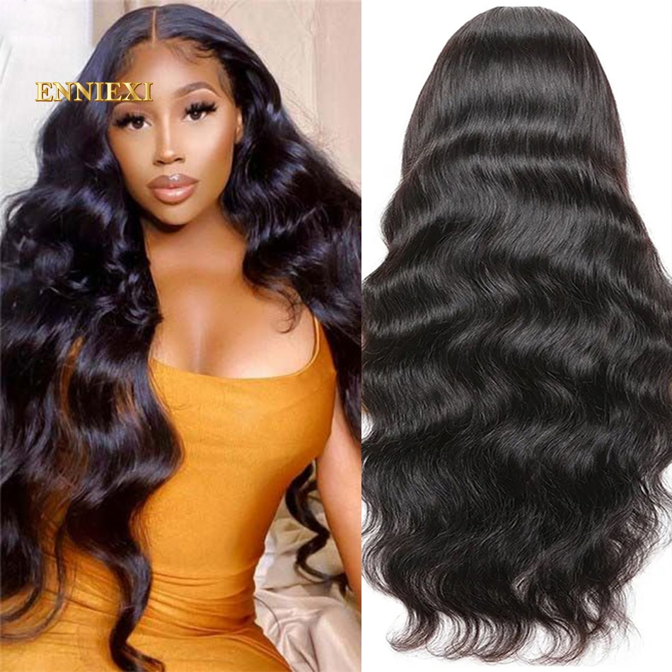 Body Wave Lace Front Wig Remy 150 13x6 Hd Lace Frontal Wig Raw Indian Hair 4x4 5x5 Lace Closure Wig Pre-Plucked With Baby Hair