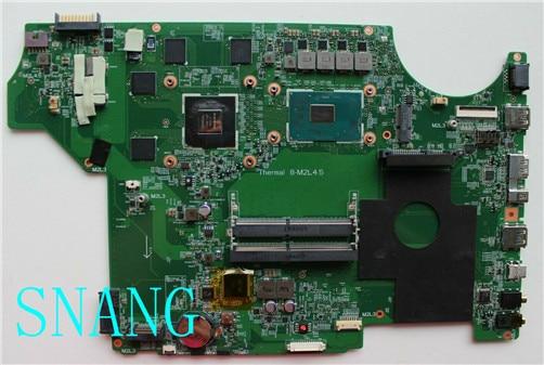 FORMS-16J51 VER 1.0 para MSI MS-1795 MS-16J5 GE62 GE72 PE60 OK I5-6300HQ E GTX950M DDR4 PE70 LAPTOP motherboard 100% de trabalho