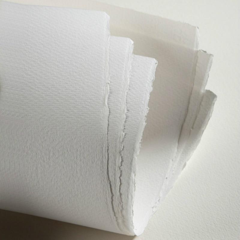 Акварельная бумага, хлопковая целлюлоза, акварельная бумага с тремя текстурами, 20 листов, 300 г, профессиональная художественная бумага для р...