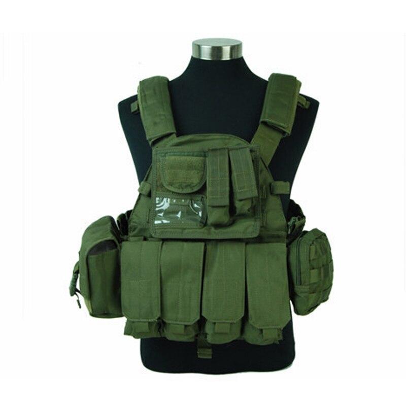 Chaleco táctico militar Lbt 6094 nailon 6094 800d sellos del ejército Molle Fighters Paintball Cs Wargame Molle chaleco protector
