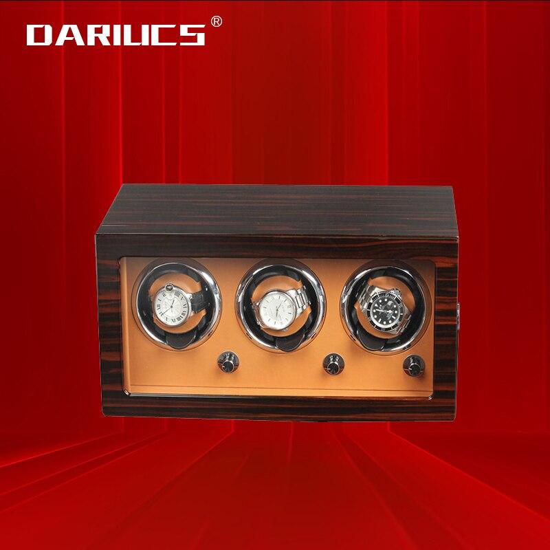 Automatic Watch Winder Box Uhrenbeweger Mechanical Display 3 Slots Male watch Automatic