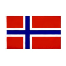 Flaglink 3x5fts 90*150cm Kongeriket Noreg Norge ani flaga norwegii