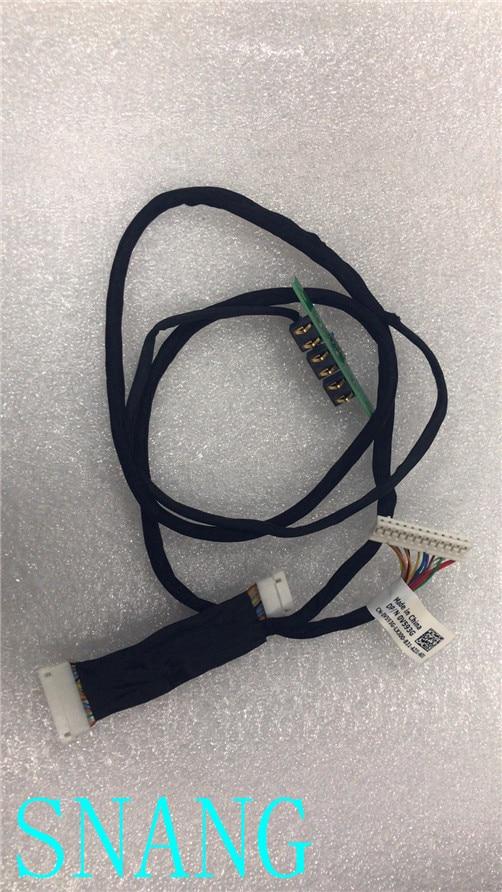 لديل Alienware R5 الجانب باب دخول بلوح صلب الكابلات المضيئة 0V593G V593G اختبار جيد