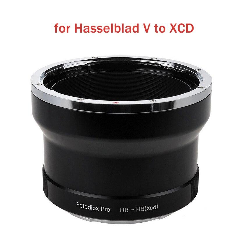 Anillo adaptador de HB-HB Fotodiox para lente de montaje Hasselblad V a cámara Hasselblad XCD mout para X1D X1D-50c