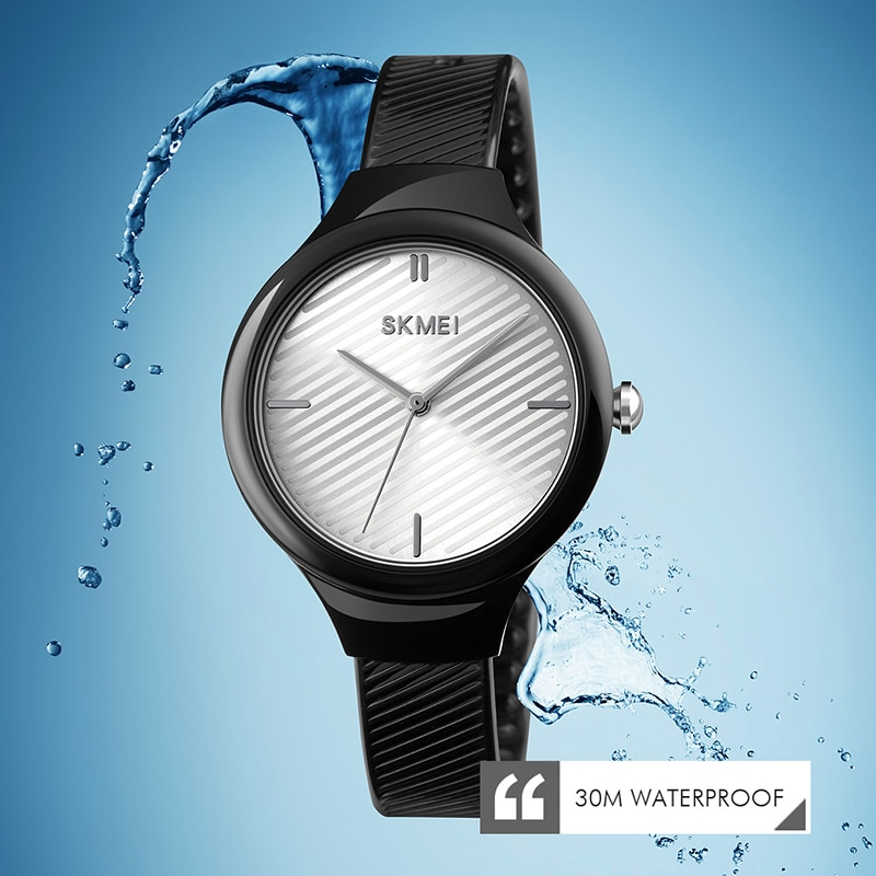 SKMEI Girl Chic Quartz Watches Fashion Colorful Transparent Strap Ladies Watches 2020 Waterproof Student Wrist Watches 1714 enlarge