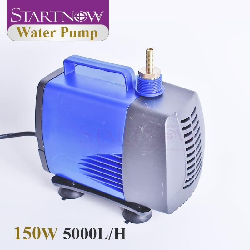 Startnow-مضخة مياه غاطسة 150 واط ، تدفق 5000 لتر/ساعة ، توفير الطاقة ، متعدد الوظائف لحوض السمك ، الزراعة المائية ، آلة CO2
