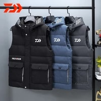 daiwa the new winter clothing 2020 mens cotton vest fishing jacket with thick down cotton thermal cotton fishing clothes