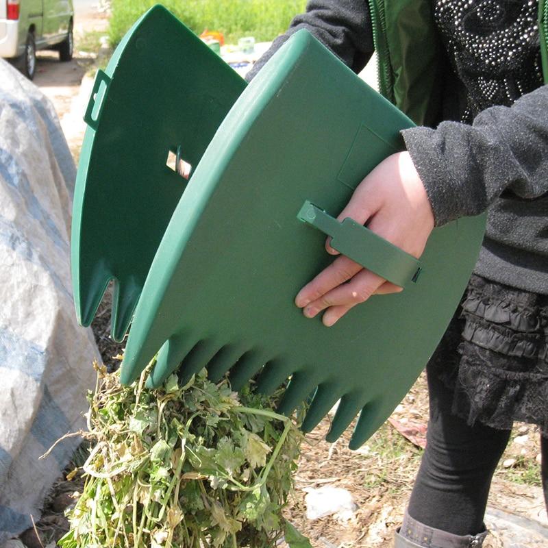 Ferramenta de Folhas Arrebatadora Grama Recortes Ferramenta Remoção Jardim Usado Remover Folhas Caídas no Chão Acessórios