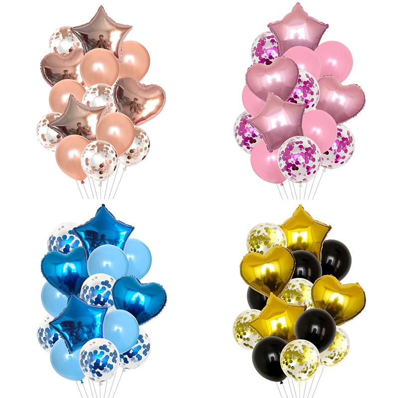 Globos dede 12 pulgadas para fiestas de cumpl... globos de confeti de...