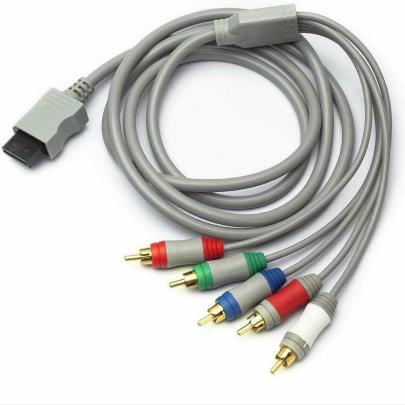 Más 6FT HDMI TV componente RCA Audio Video Cable AV Cable de conector de Cable para Nintendo Wii U Wii