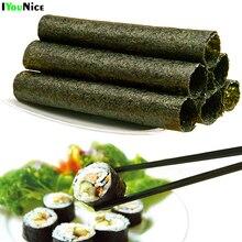 50-100pcs/bag Sushi nori seaweed , A+ Class Seaweed sushi , Secondary whole roast Porphyra Pack Rice Material sushi