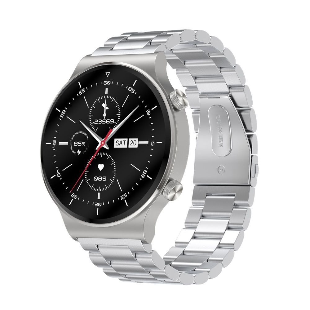 Get 5pcs New C12 Smart Watch Men 2021 GT 2 Pro Blood Pressure Oxygen Monitor IP68 Waterproof Smartwatch For Huawei Watch GT 2 Pro M5