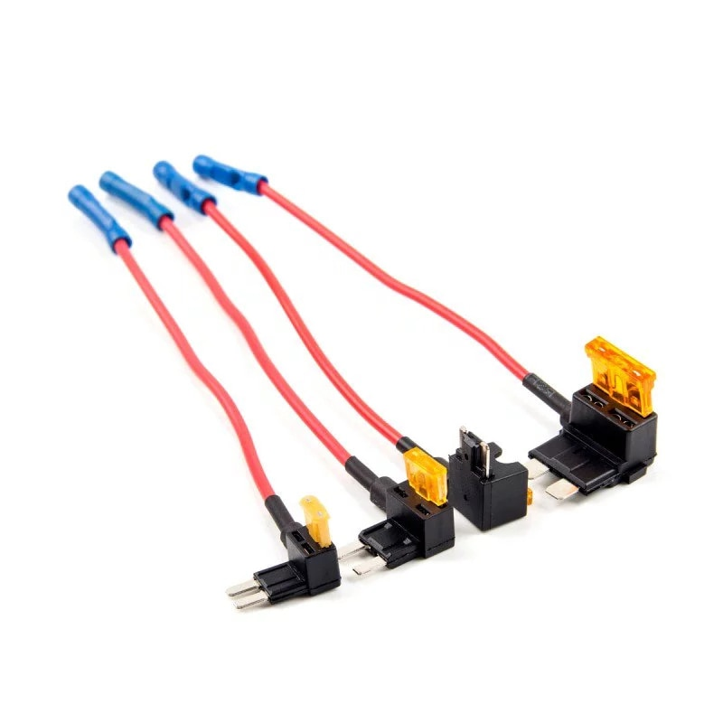 2Pcs Voor Viofo A119 V2 3 A129 Auto Circuit Fuse Tap Atc Ats Micro2 Mini Adapter Houder