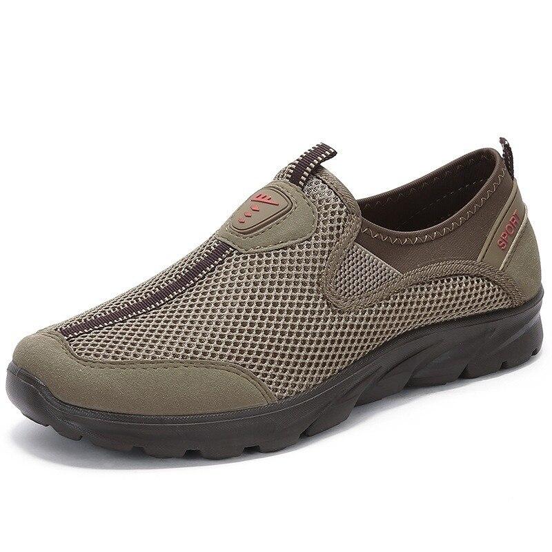 2021New شبكة أحذية رجالي ؛ مريحة أنيقة وتنفس أحذية رجالي عادية مناسبة أحذية رياضية ؛ Zapatillas Hombre