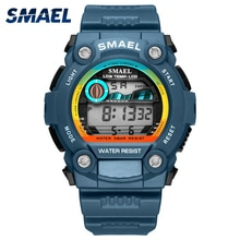 Top Brand SMAEL Men Watches Waterproof Chronograph Digital Watch For Men Fashion Outdoor Sport Watch
