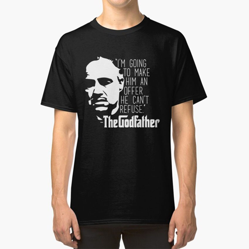 The Godfather T - Shirt The Godfather God Father Mafia Mobster Movie Film Classic Vintage Oldies Old
