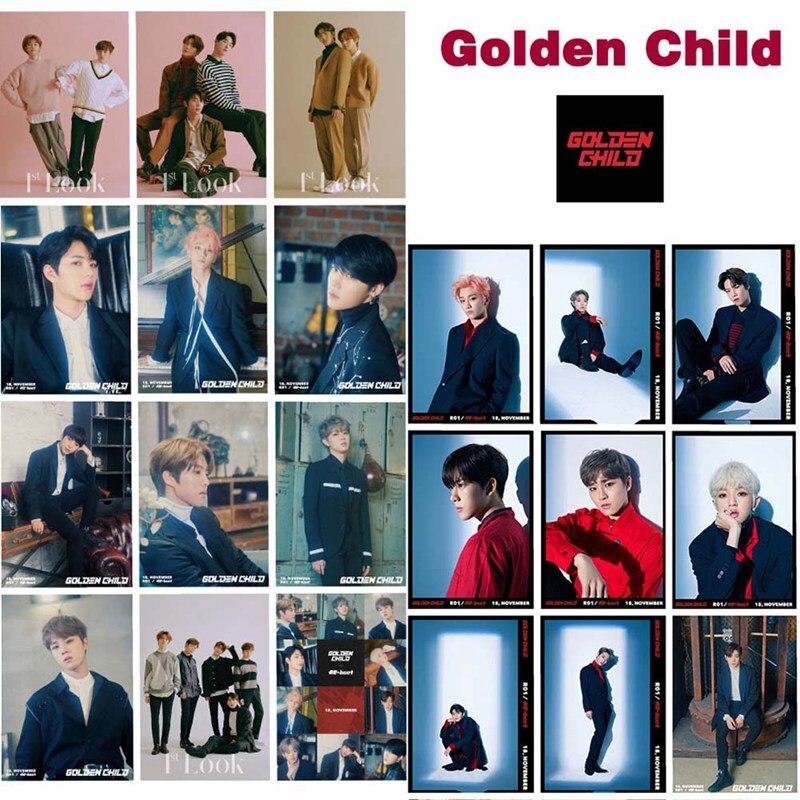 Kpop Golden Child Lomo Photo Card photocards primera tarjetas colectivas 16 unids/set