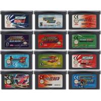 AliExpress - Video Game Cartridge Console Card 32 Bits Megaa Man Series For Nintendo GBA
