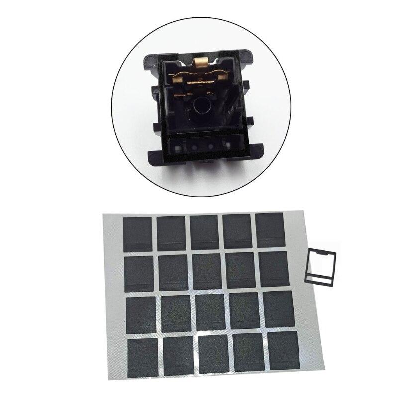 120pcs/Pack MX Switch Film for Mechanical Keyboard HTV Shaft Film Cherry Gateron K3KE enlarge