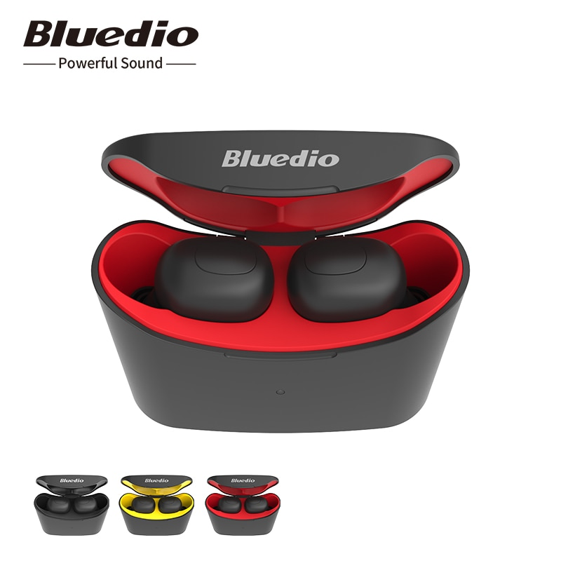 Беспроводные наушники Bluedio T-elf mini TWS Bluetooth 5.0 спортивная гарнитура