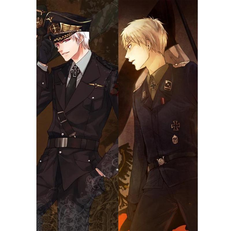 BL homme japonais personnages Anime axe pouvoirs Hetalia jeter Otaku cadeaux Dakimakura literie taie doreiller 150x50 CM