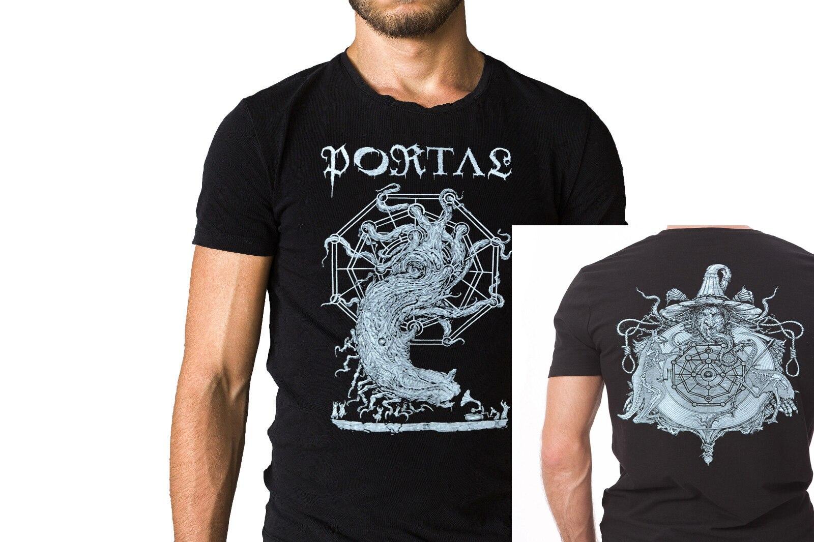 Portal Yaji Ashuthath negro camiseta