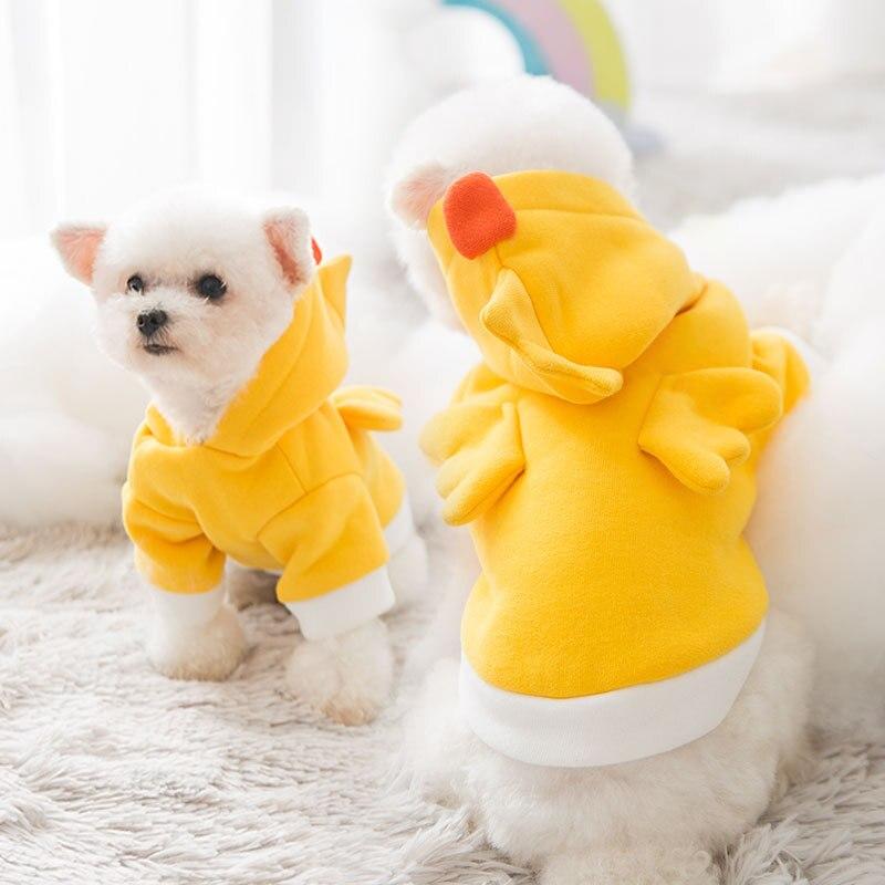 Sudaderas con capucha para perro caliente, chaqueta con capucha para otoño e...