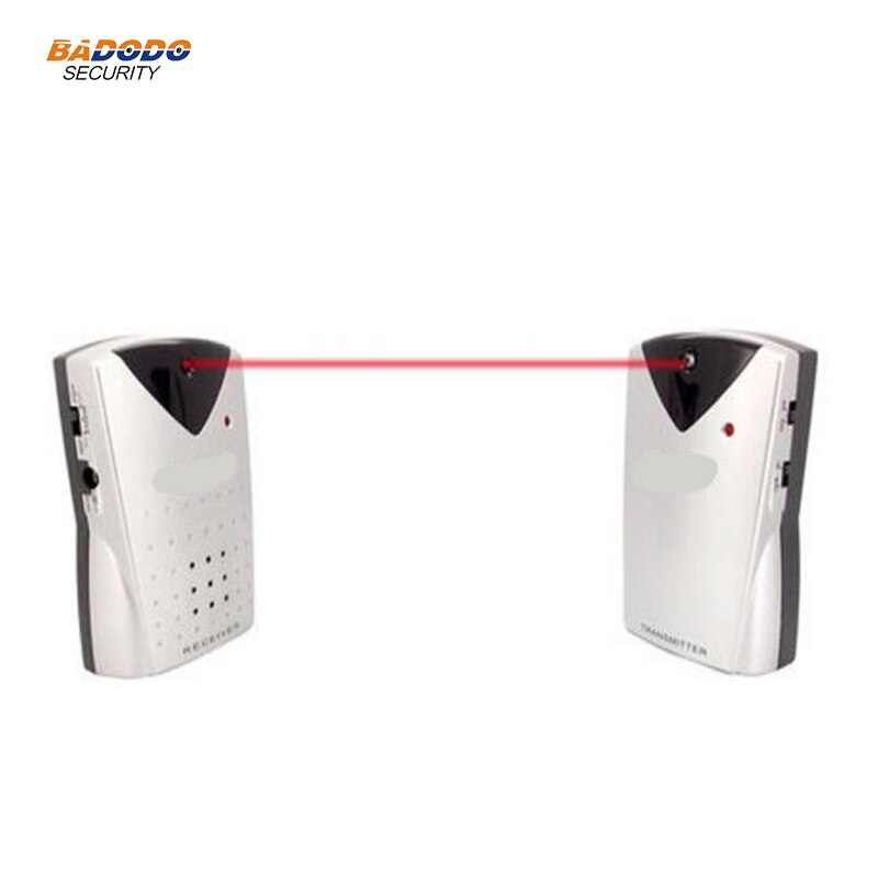 Alarma de detector de haz infrarrojo inalámbrico Doberman SE-0160 alarma de sensor De Detección De Movimiento de defensa de entrada 100dB alarma de sonido