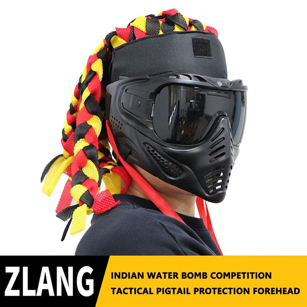Охотничьи спортивные индийские плетеные дреды снаряжение на лоб защитная маска уличное снаряжение реквизит для косплея принадлежности дл...