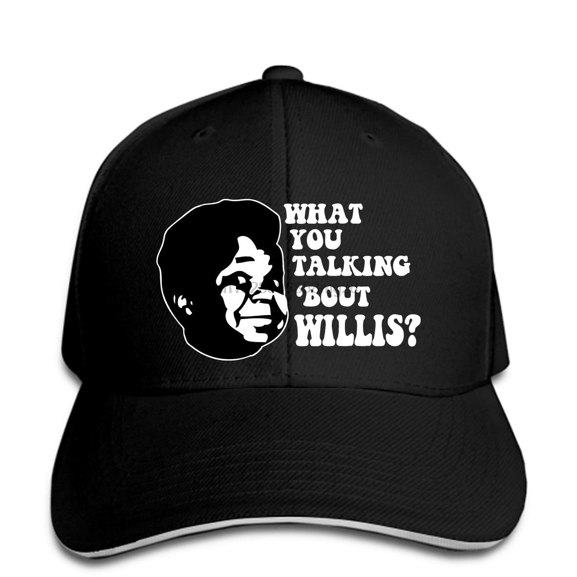 ARNOLD DIFFERENT STROKES WHAT YOU TALKING BOUT WILLIS Retro Men Baseball Cap  Snapback Cap Women Hat Peaked