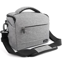 new dslr camera bag fashion polyester shoulder case for canon nikon sony lens pouch bag waterproof photography photo accesorios