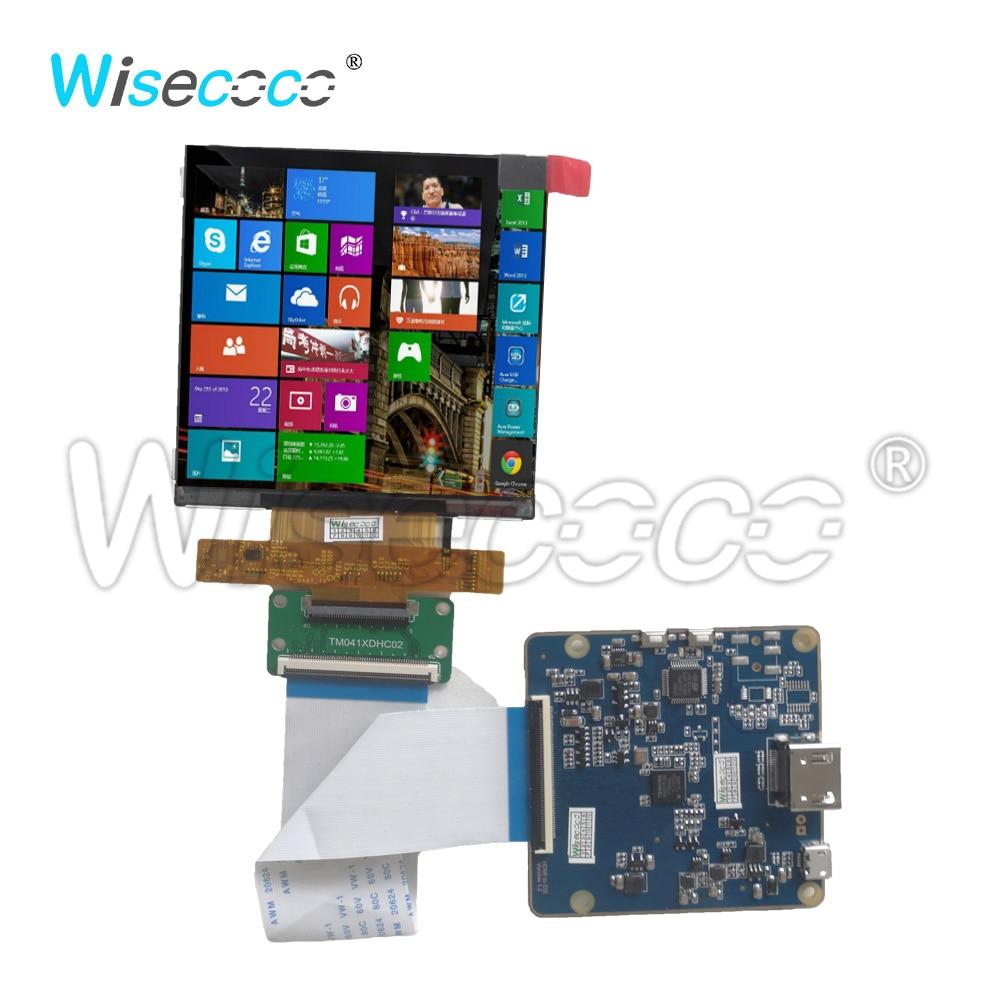 وحدة لوحة تحكم MIPI للآلات الصناعية ، شاشة LCD مربعة TFT 4.1 بوصة 720*720