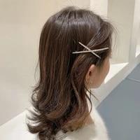 full crystals cross hairpins woman barrettes hair clips girls hair accessories hair grip headwear bb clips