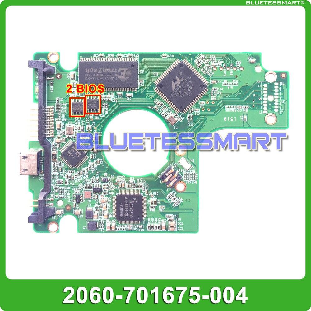 HDD PCB platine 2060-701675-004 REV P1 für WD USB 2,0 festplatte für WD5000BMVV/KMVV WD6400BMVV/KMVV WD7500KMVV WD10TMVV