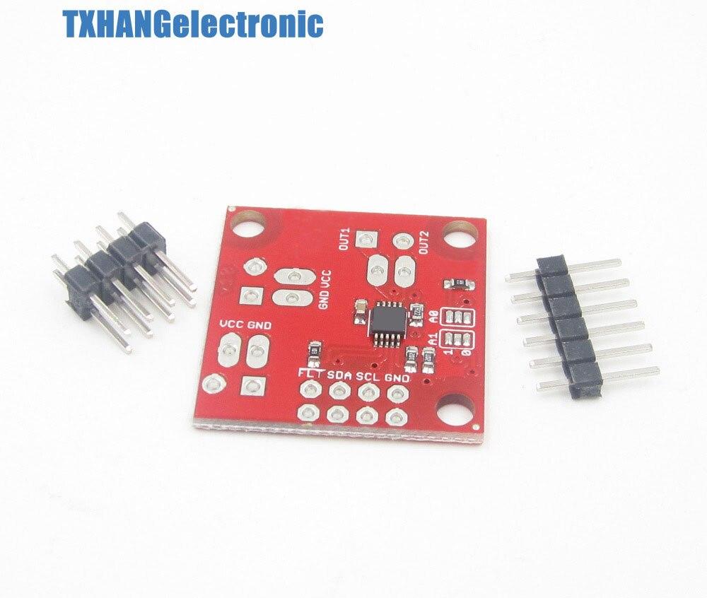 Drv8830 i2c iic controle dc driver de motor moto escudo módulo diy eletrônica