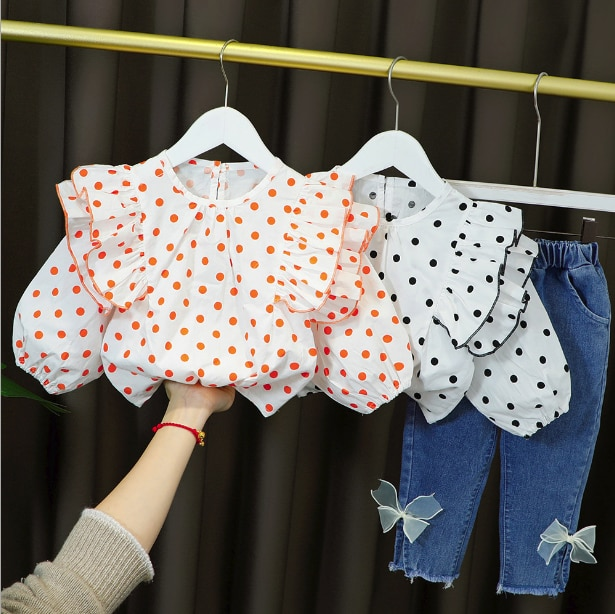 Girls clothes sets spring autumn children fashion coat pants 2pcs tracksuits for baby girl toddler legging suits kids outfits 3