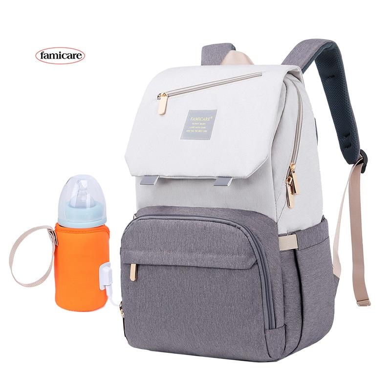 AliExpress - 2021 New Diaper Bag Mummy Maternity Backpack Baby Stroller Knapsack Waterproof Handbag Nursing Nappy Rucksack Kid Going Out Bags