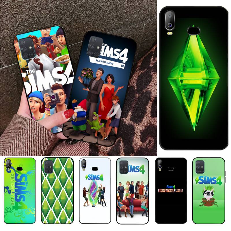 NBDRUICAI Video Game The Sims TPU black Phone Case Cover Hull For Samsung A10 A20 A30 A40 A50 A70 A71 A51 A6 A8 2018