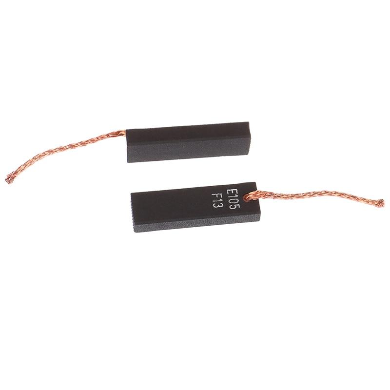1pair 6.2 * 11.5 * 39 MM Vacuum Cleaner Carbon Brush Motor Carbon Brush